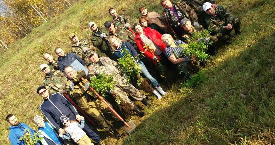 """Акция """"Чистый лес"""" состоялась 19 октября 2019 года"""