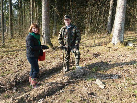 Республиканская добровольная акция «Неделя леса» стартовала