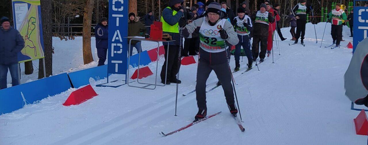 Лыжные гонки руководящих работников